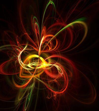 Beautiful abstract illustration. Digital generated this image Stock Illustration - 6170177