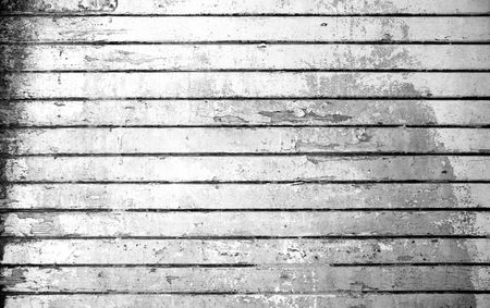 Vintage background from obsolete black and white grunge wooden plank photo