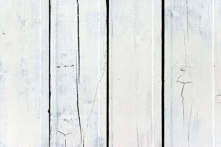 A background of weathered white painted wood Stock Photo - 6975837