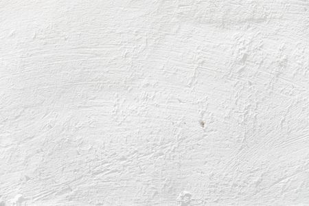 Background from high detailed white plastered wall