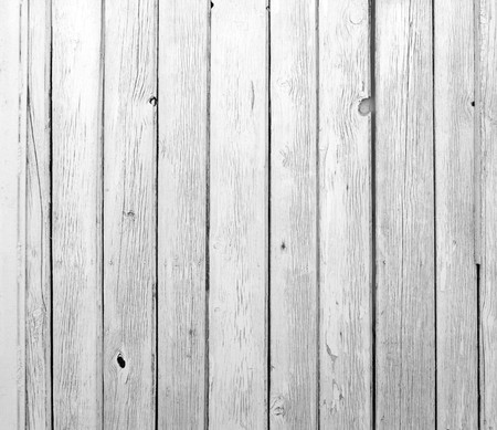 A background of weathered gray wooden texture Stock Photo