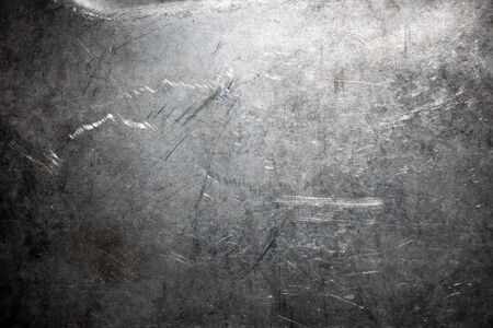 Scratched and spotted a metal aluminium sheet Stock Photo - 7268909