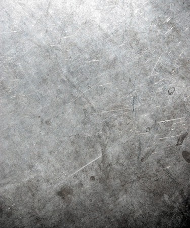 Industrial background from worn brushed metal sheet Stock Photo - 7301640
