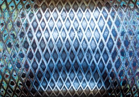 Industrial bent metal Stock Photo - 7341364