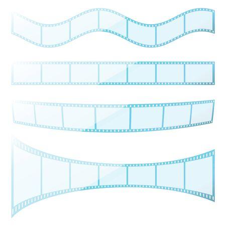 Set filmstrip Vector