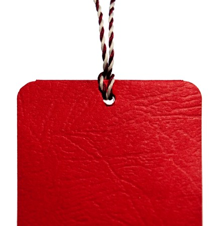 Red tag Stock Photo - 7704485