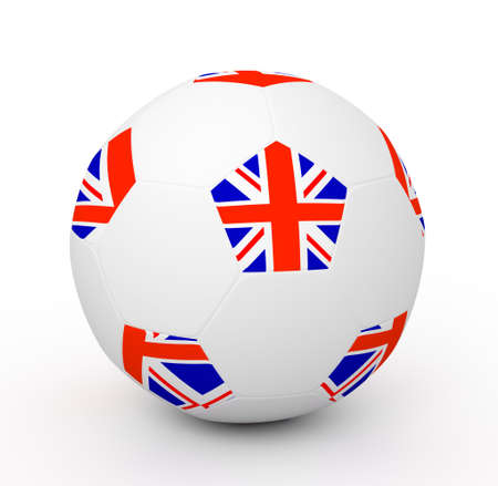 Soccer Ball (3D Illustration) Stock Illustration - 8093018