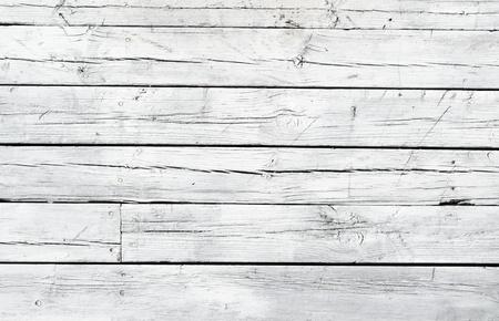 holz: Dem Hintergrund einer verwitterten wei� lackiertem Holz