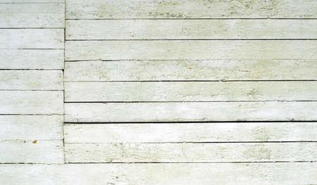 Weathered white wood photo