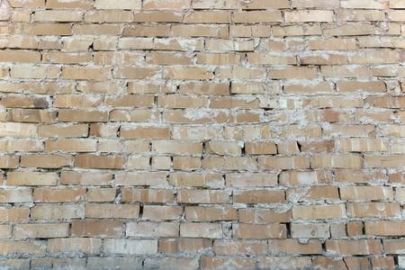 paredes de ladrillos: Textura antigua muros de cemento y ladrillo