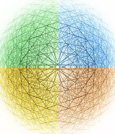 3d spherical structure photo