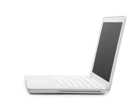 Computer Laptop and mouse Stock Photo - 11234636