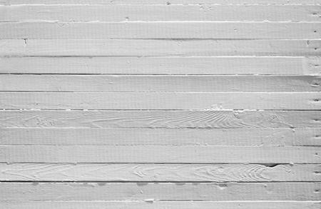 Een achtergrond van verweerde wit geschilderd hout