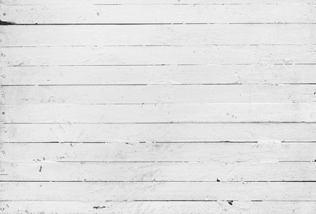 wooden floors: A black and white backround of weathered painted wooden plank Stock Photo