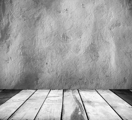 concrete background: Vintage background Stock Photo