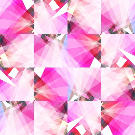 angles: seamless pattern bright packaging crumpled paper Illustration
