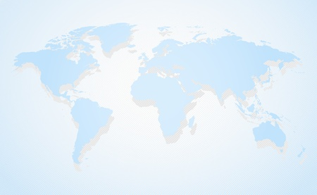 south east asia: Mappa visione prospettica Vettoriali