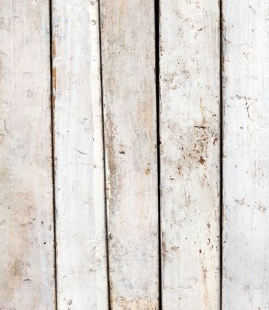 painted wood: Vintage background from a black and white wooden plank