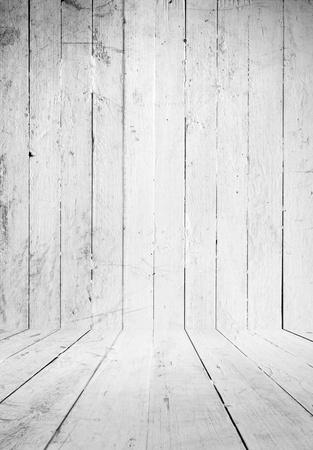 wood abandoned: White  grunge  interior