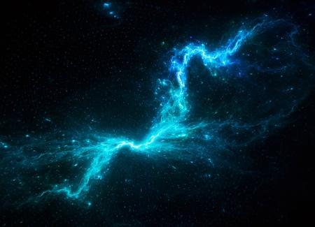 Kosmische abstracte achtergrond Stockfoto