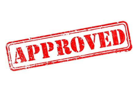 approved stamp: Aprobado sello de caucho