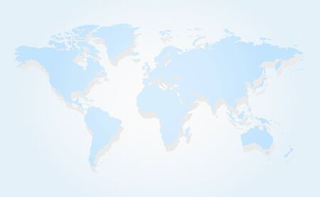 Map of the world Stock Vector - 12481023
