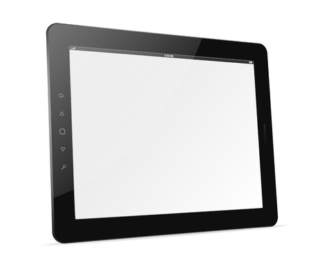 tablet: Vector tablet computer