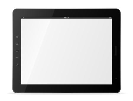 tablets: Vector tablet computer   Illustration