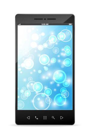Realistic vector smartphone Stock Vector - 12816275
