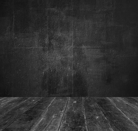 Donkere oude kamer Stockfoto