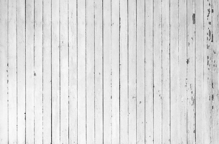 Weathered white wood photo