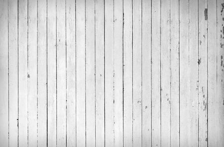 painted lines: Weathered white wood Stock Photo