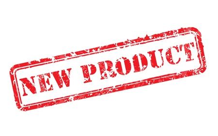 Nieuw product rubber stempel