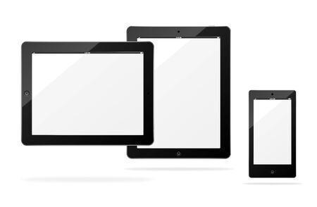 Vector tablet computer Stock Vector - 13307418