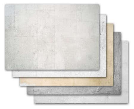 cement pile: Pile stone walls