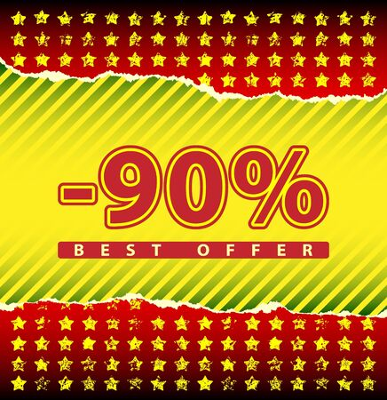 tatter: Best offer 90 percent off