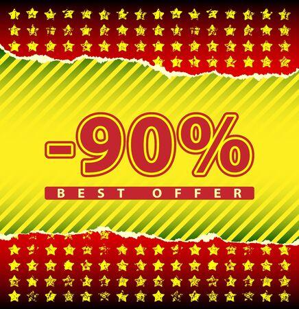 tatter: Best offer 90 percent off