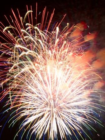 Feuerwerk Lizenzfreie Bilder
