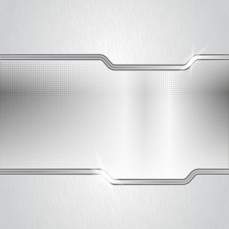 on metal: De metal de puntos backround abstracta Vectores