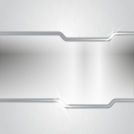 Gepunktete Metall abstrakten Hintergrund