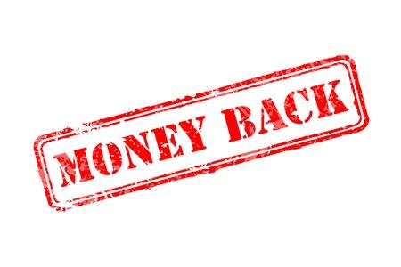 Geld terug stempel