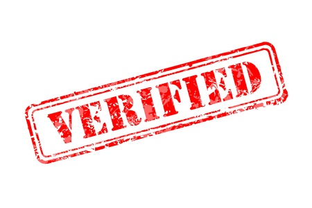 verified: Verified rubber stamp