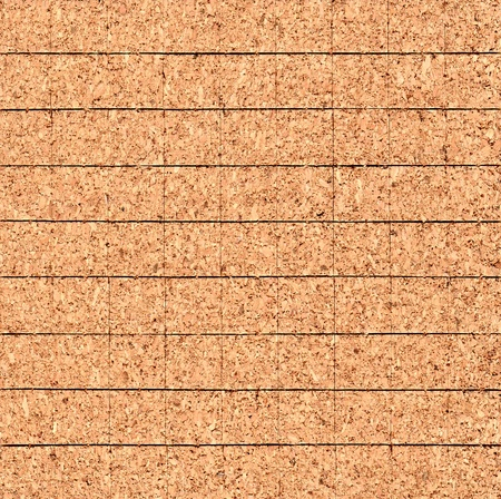 Tiled texture of cork photo