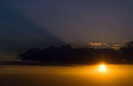 Beautiful sunset Stock Photo - 14448606