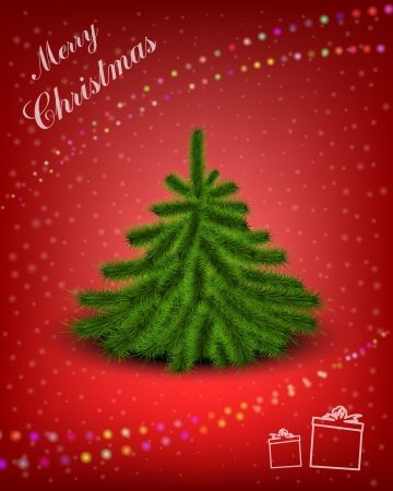 Christmas card Stock Vector - 14538471