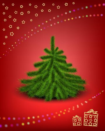 Christmas card Stock Vector - 14580704