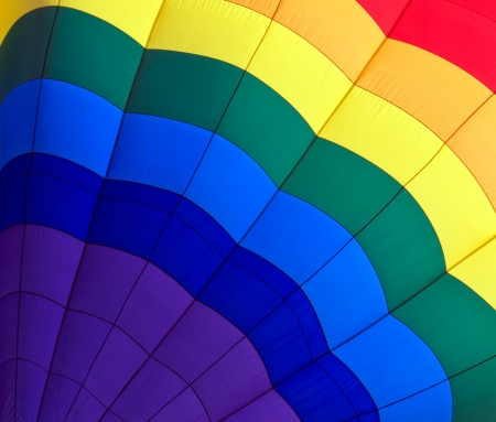 hot line: Abstract color background of closeup into balloon