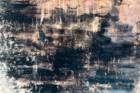 Painted and scratched rusty metal texture Stock Photo - 14796707
