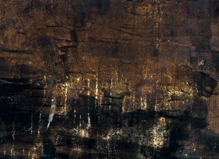 Painted and scratched rusty metal texture Stock Photo - 14809001