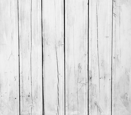 Weathered white wood Stock Photo